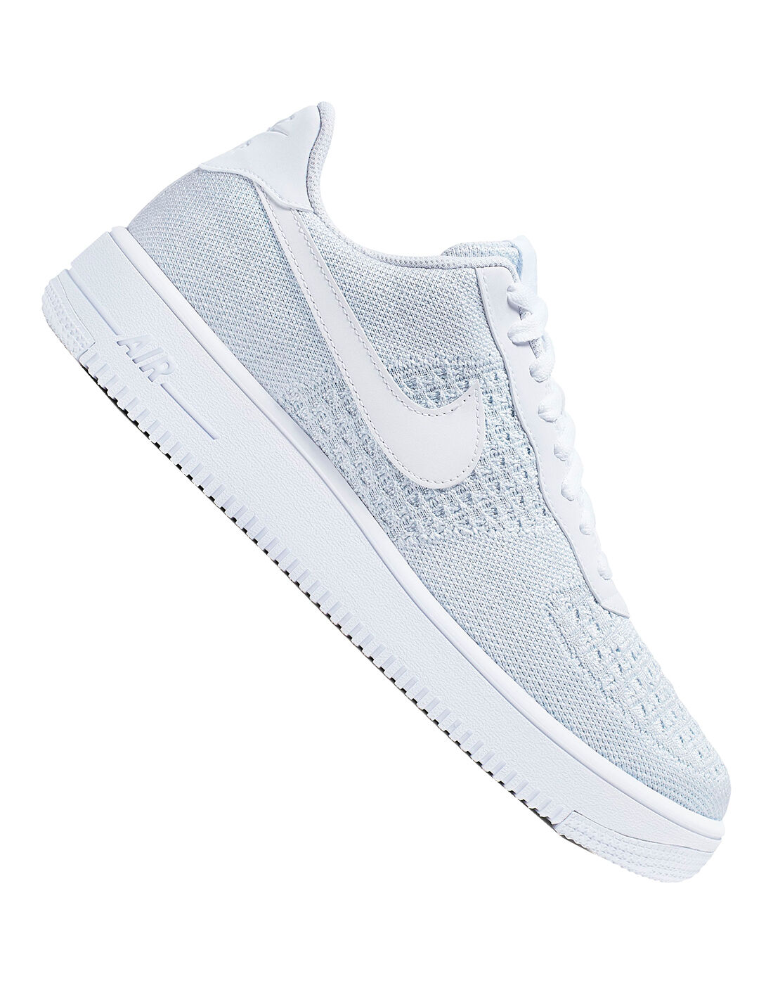 Nike Mens Air Force 1 Flyknit - White