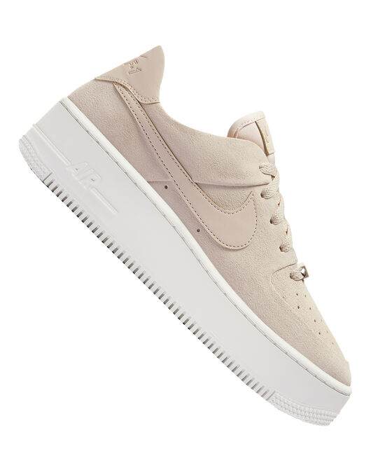 Women s Pink Nike Air Force 1 Platform  0c9025a02