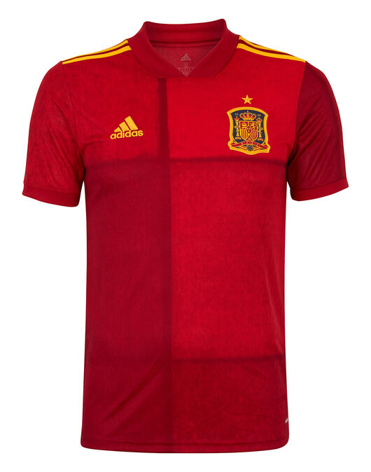 Adult Spain Euro 2020 Home Jersey