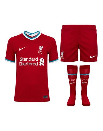Kids Liverpool 20/21 Home Kit