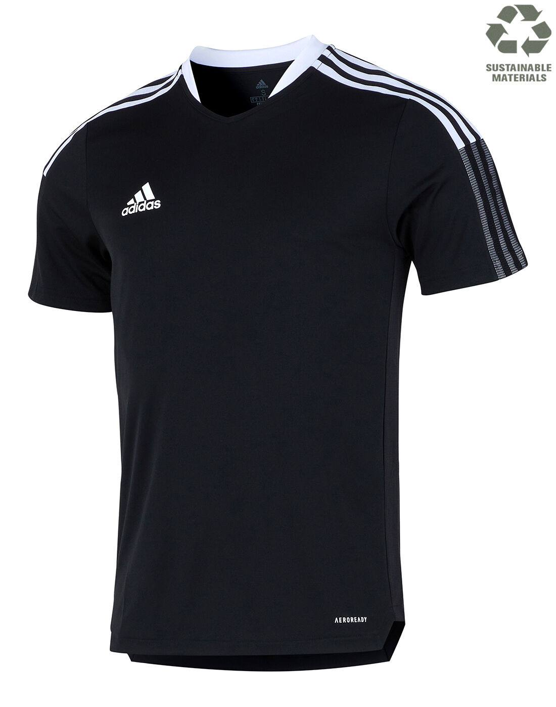 adidas Mens Tiro 21 Training T-Shirt - Black | poleras adidas ...