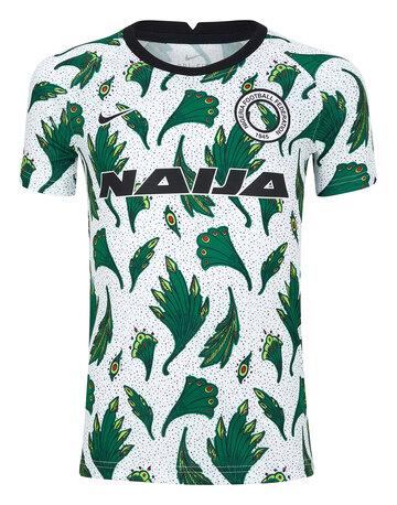 Kids Nigeria Pre Match Jersey