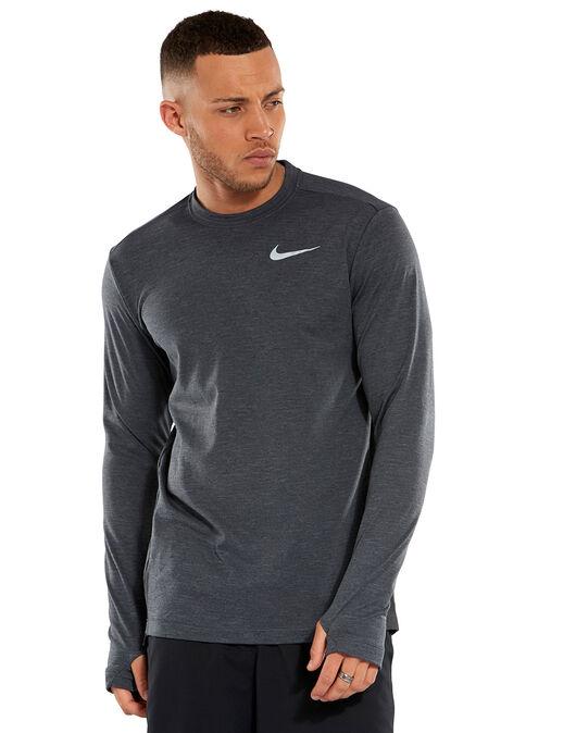 c36e569b Men's Black Nike Element Crew Sweatshirt 2.0 | Life Style Sports