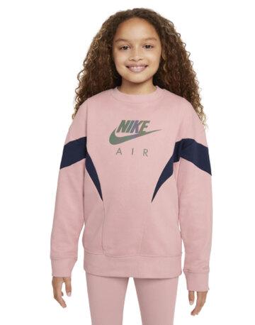 Older Girls Air Crewneck Sweatshirt