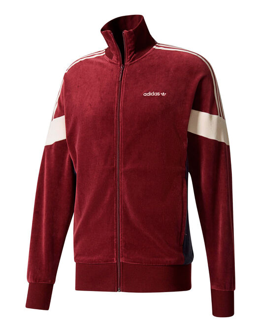 Mens CLR84 Velour Track Top