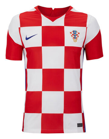 Adult Croatia Euro 2020 Home Jersey