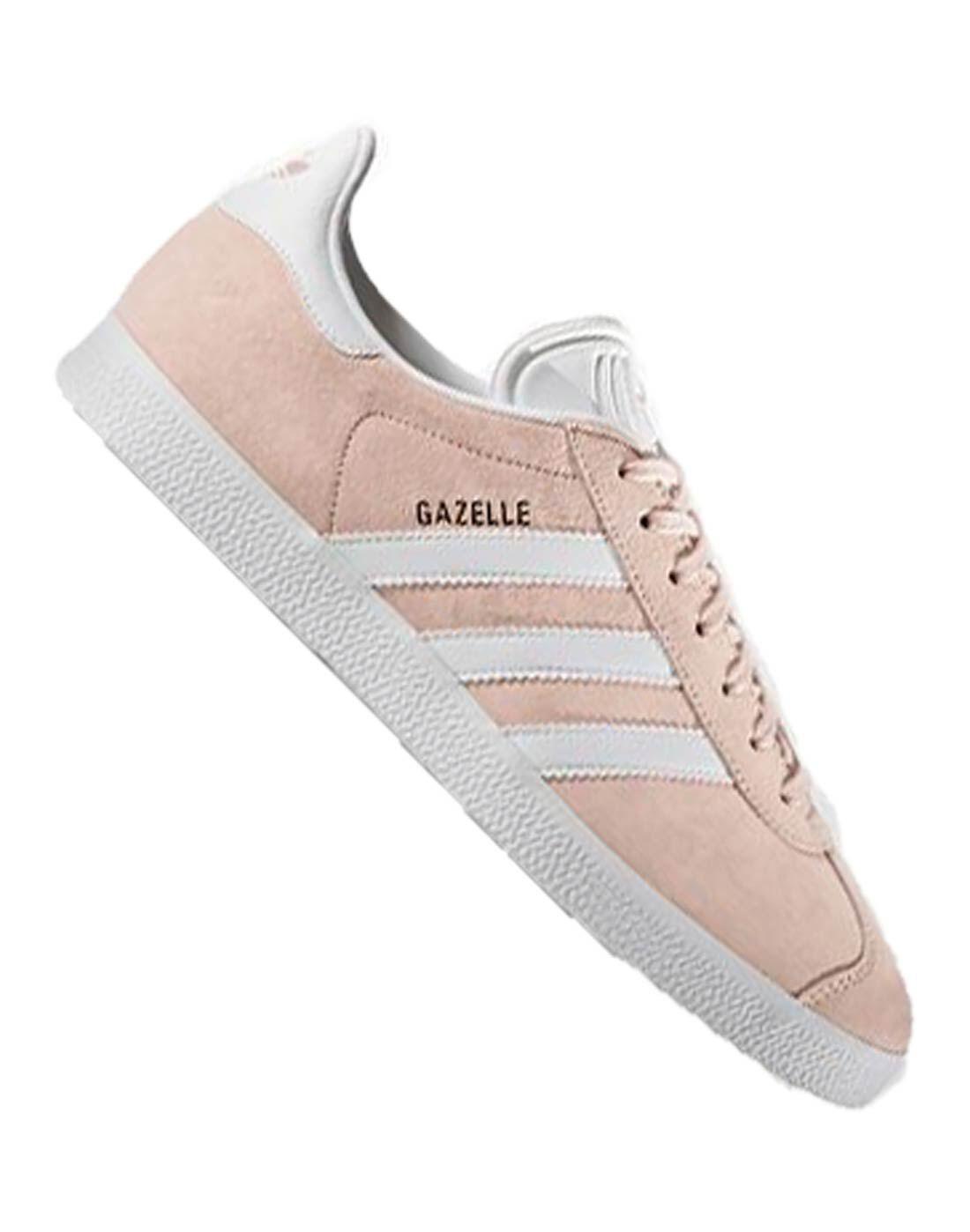 adidas originali donne gazzella rosa dello stile di vita sportiva