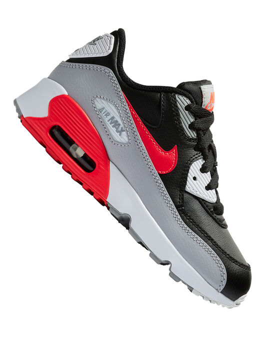 Younger Boys Air Max 90 Leather