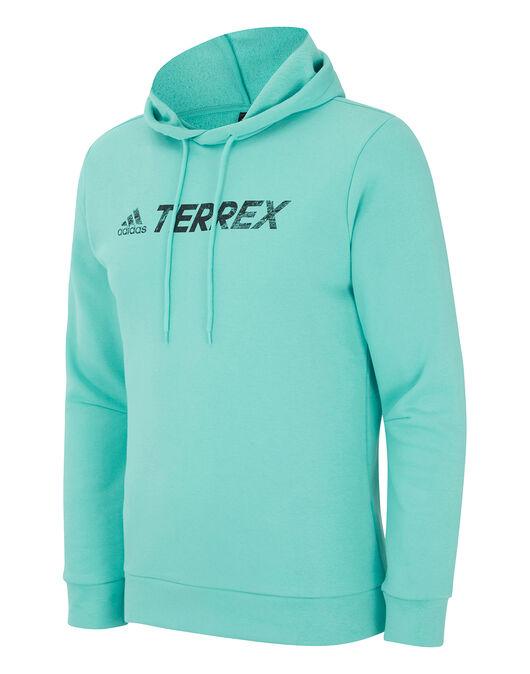 Mens Terrex Logo Hoodie Pullover