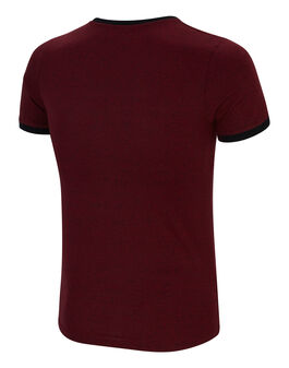 Mens Adan Dropped Hem T-Shirt