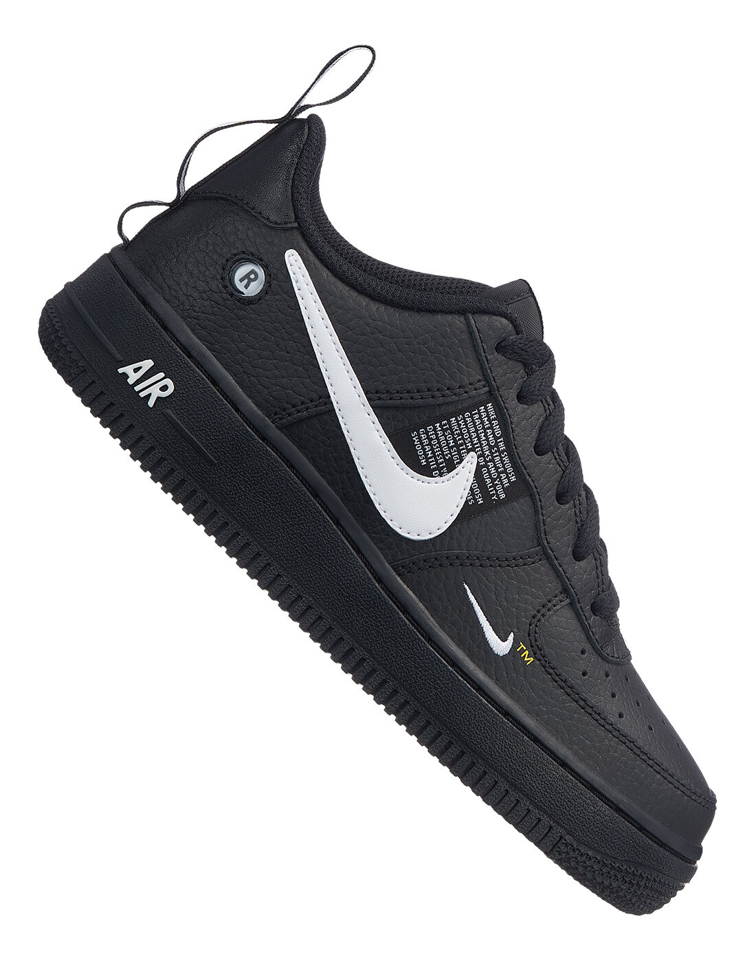 Boy's Black Nike Air Force 1 Utility | Life Style Sports