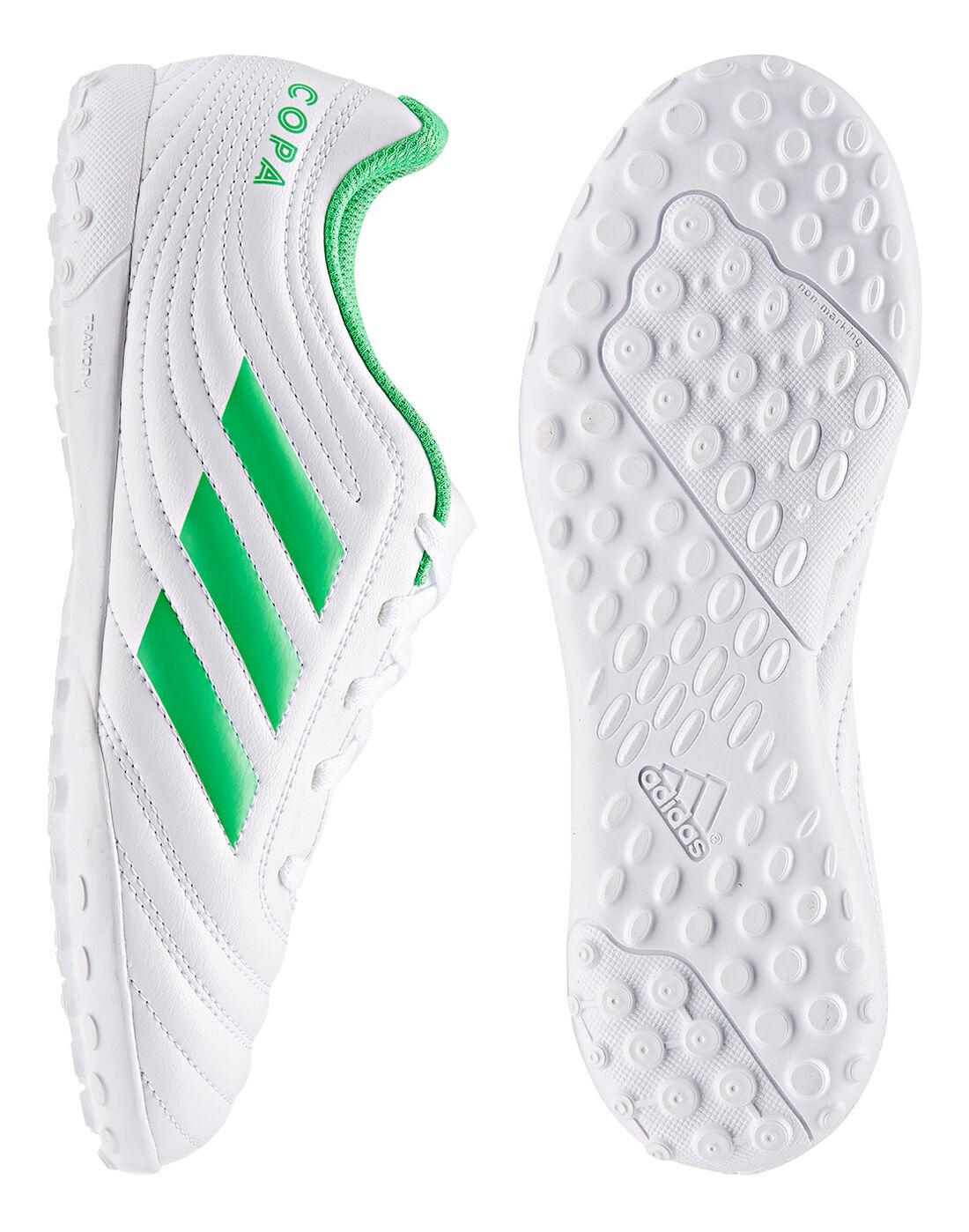 Kid's Green \u0026 White adidas Copa 19.4