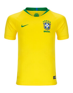 Kids Brazil WC18 Home Jersey