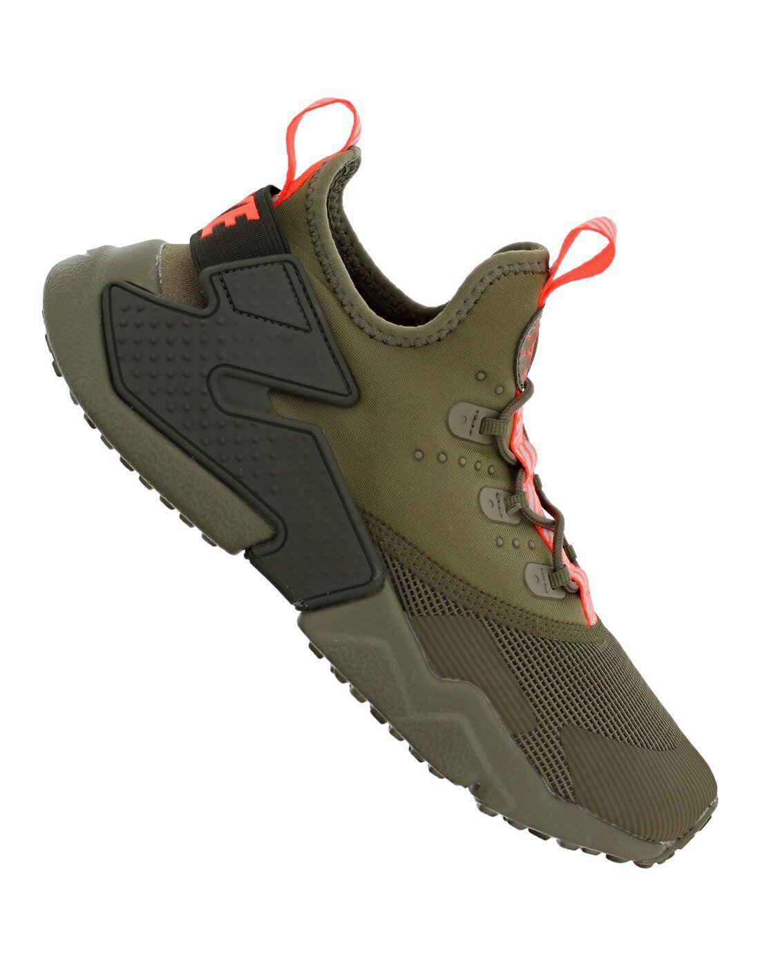 Older Boys Nike Huarache Drift | Green