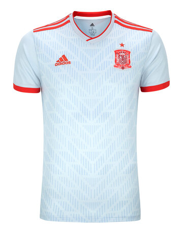 d28f9c845d7 Adult Spain WC18 Away Jersey ...