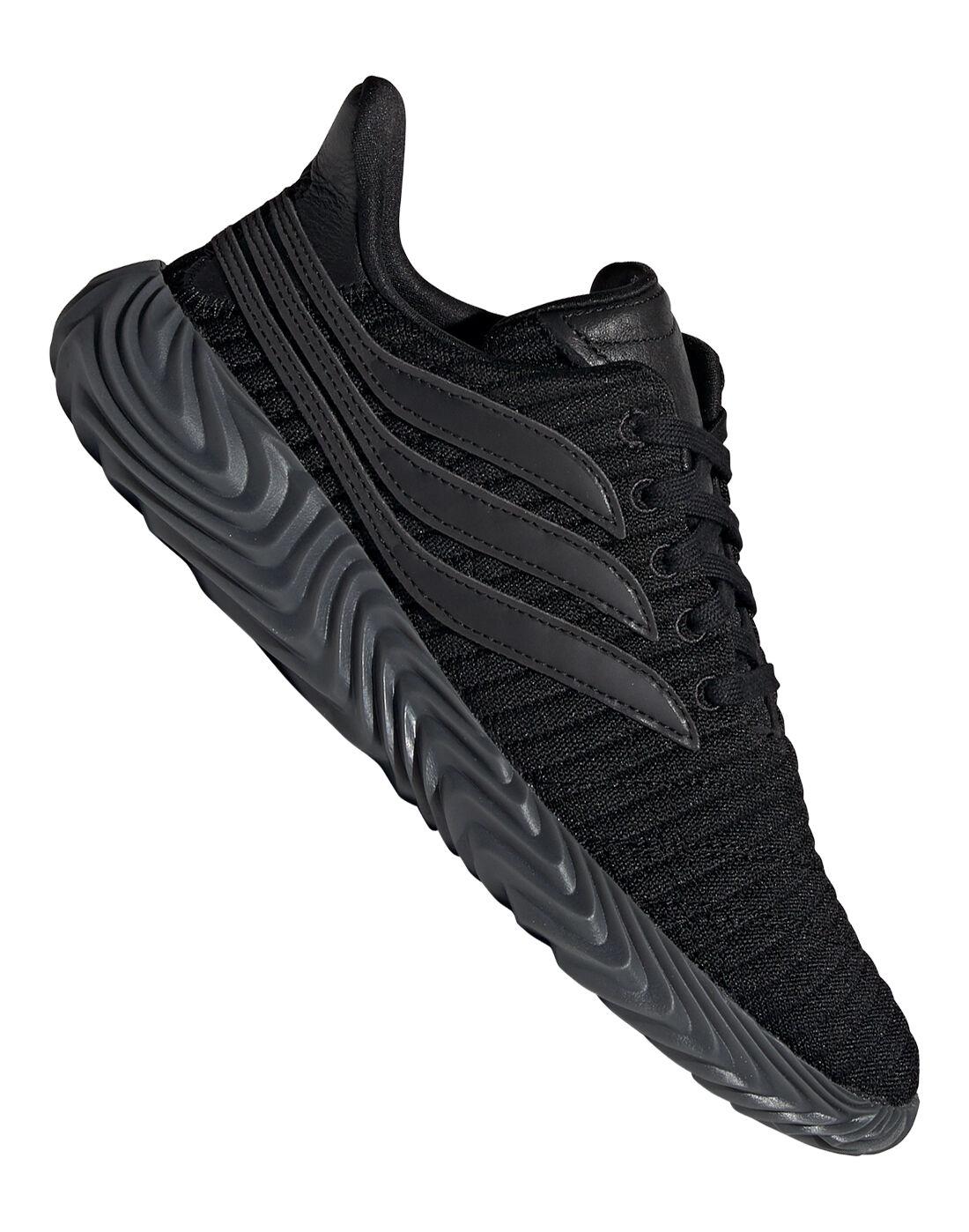 Triple-Black adidas Originals Sobakov