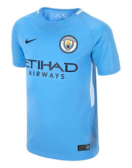 Kids Man City 17/18 Home Jersey
