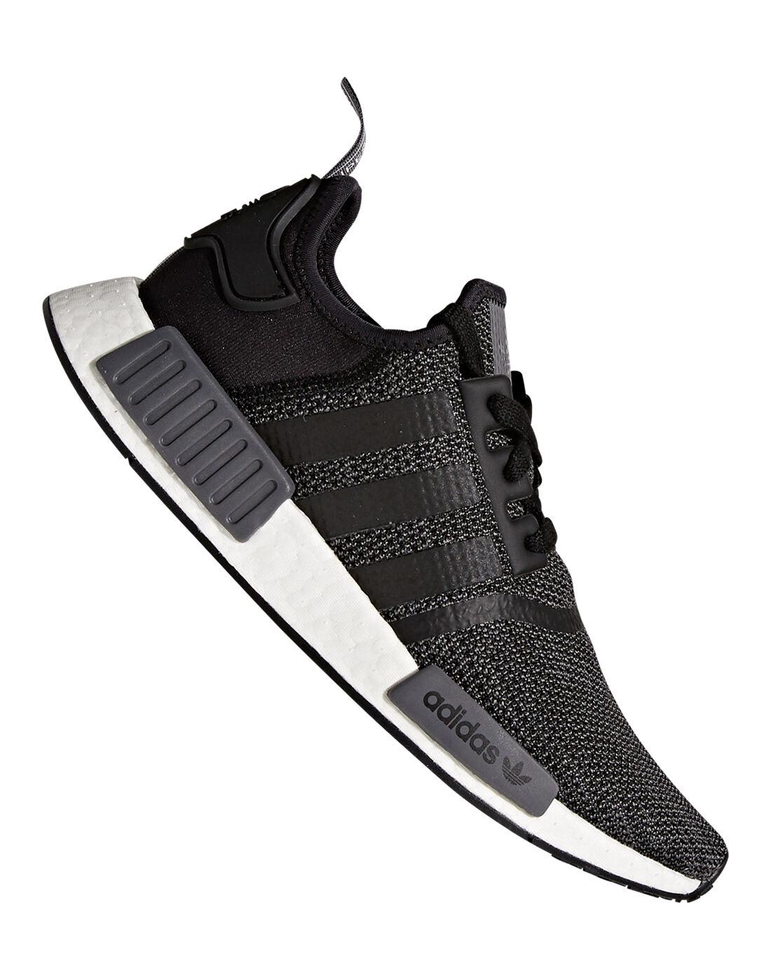 Men's adidas Originals NMD R1   Dark Grey   Life Style Sports