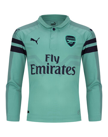 Kids Arsenal 18 19 Third LS Jersey ... 1c343cfd5