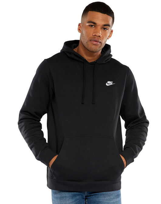 eb0df7838 Men's Black Nike Pullover Hoodie | Life Style Sports