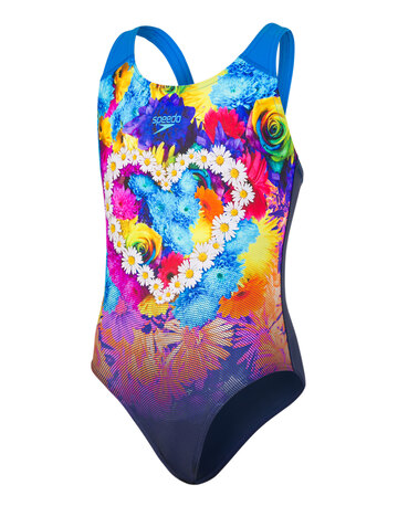 Girls Digital Printed Swimsuit