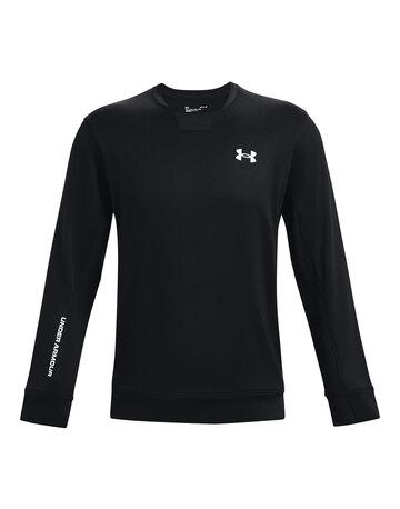 Mens Armour Terry Crew Sweatshirt
