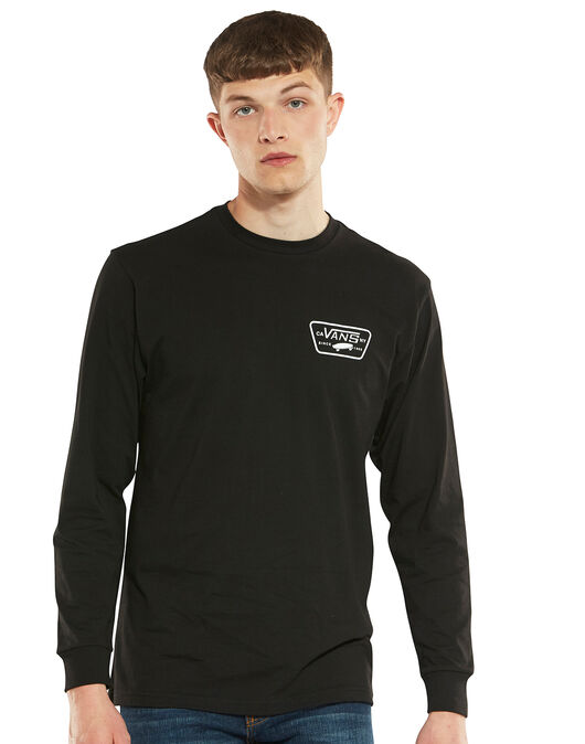 Mens Patch Long Sleeve T-Shirt