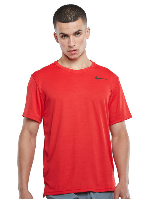 adolescentes Interconectar Subdividir  Nike Mens Superset T-shirt - Red | Life Style Sports IE