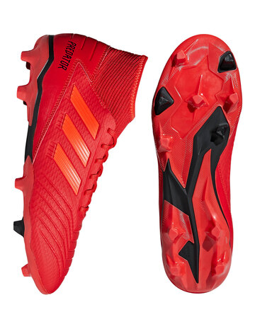 Red adidas Predator Initiator front view