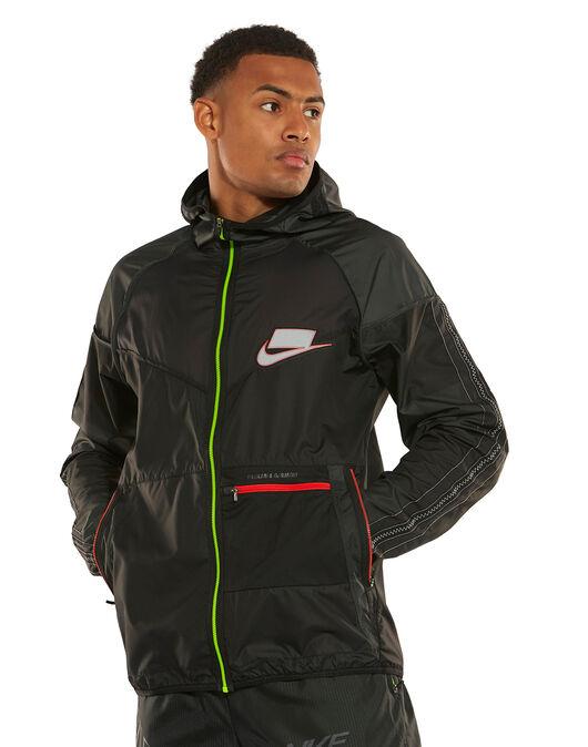 También propiedad crédito  Nike Mens Wild Run Winter Jacket - Black   Life Style Sports UK