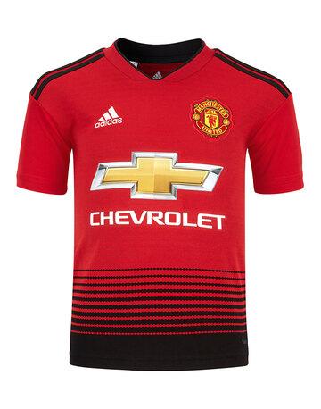 1a435f8a9 Kids Man Utd 18 19 Home Jersey ...