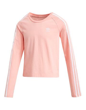 Older Girls 3 Stripe Crop T-Shirt