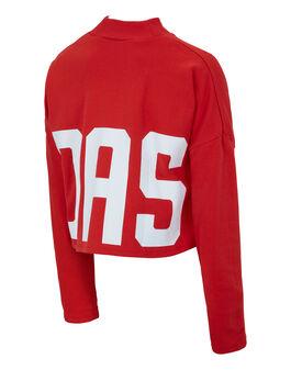 Womens BA Crop Sweater