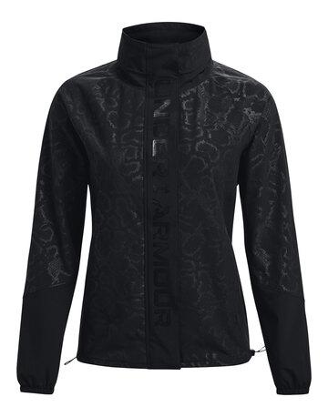Womens Rush Woven Print Jacket