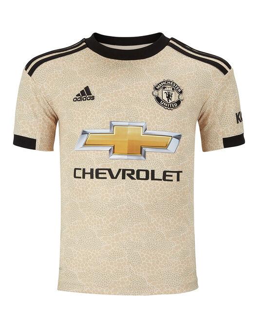 designer fashion e92a1 d51de adidas Kids Man Utd Away 19/20 Jersey