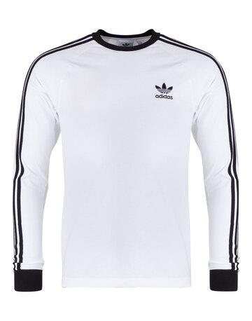 Mens Adicolour 3-Stripe Long Sleeved T-Shirt