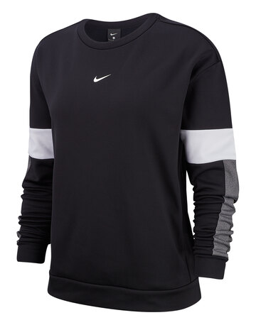 Womens Thermal Fleece Crew Sweatshirt