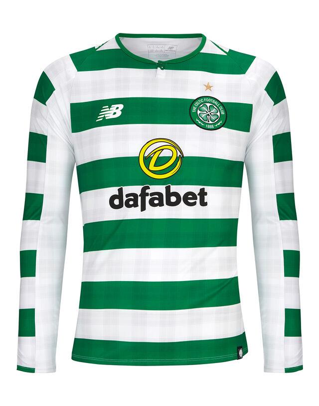 Mens Celtic 18/19 Home Jersey LS