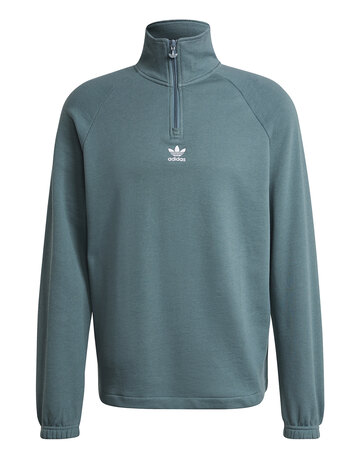 Mens Trefoil Half Zip Top
