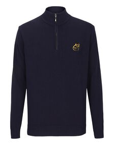 Mens Munster Quarter ZIP Sweater