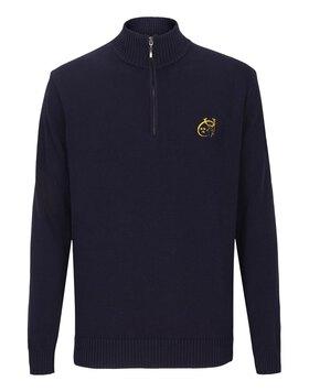 Mens Munster Quarter ZIP Sweater