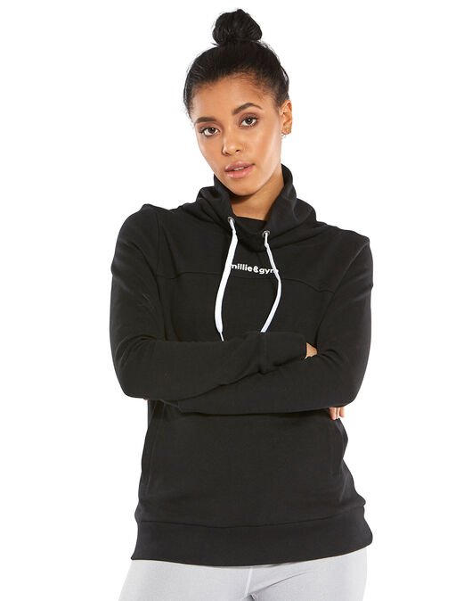 Womens Bernadette Funnel Sweatshirt