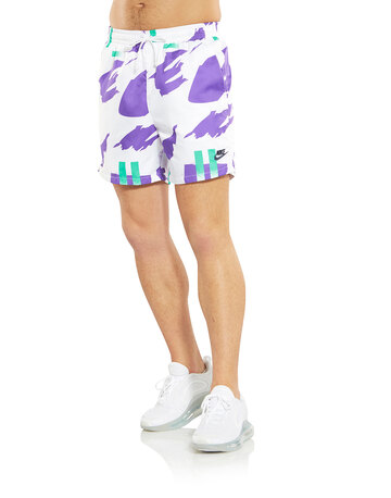 Mens Woven Festival Shorts