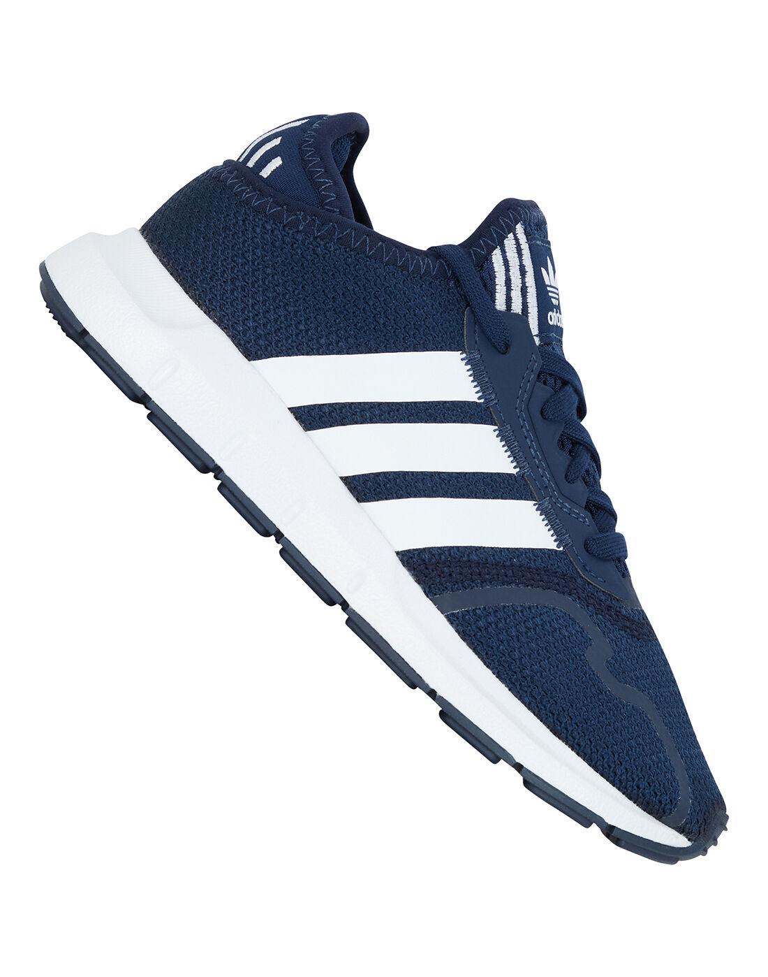 adidas Originals adidas dazzle pants girls black shoes size 13 | Younger Kids Swift Run