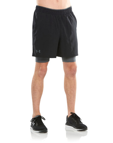 Mens Qualifier 2 in 1 Shorts
