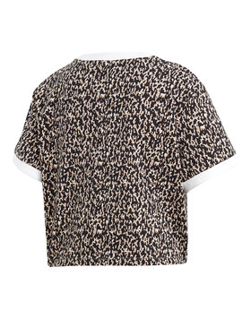 Womens Leoflage Cropped T-shirt