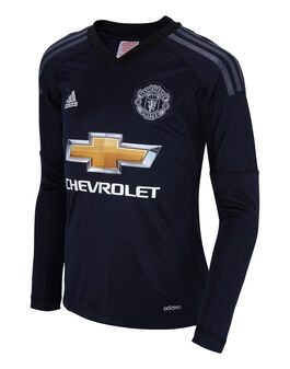 Kids Man Utd 17/18 Home G/Keeper Jersey