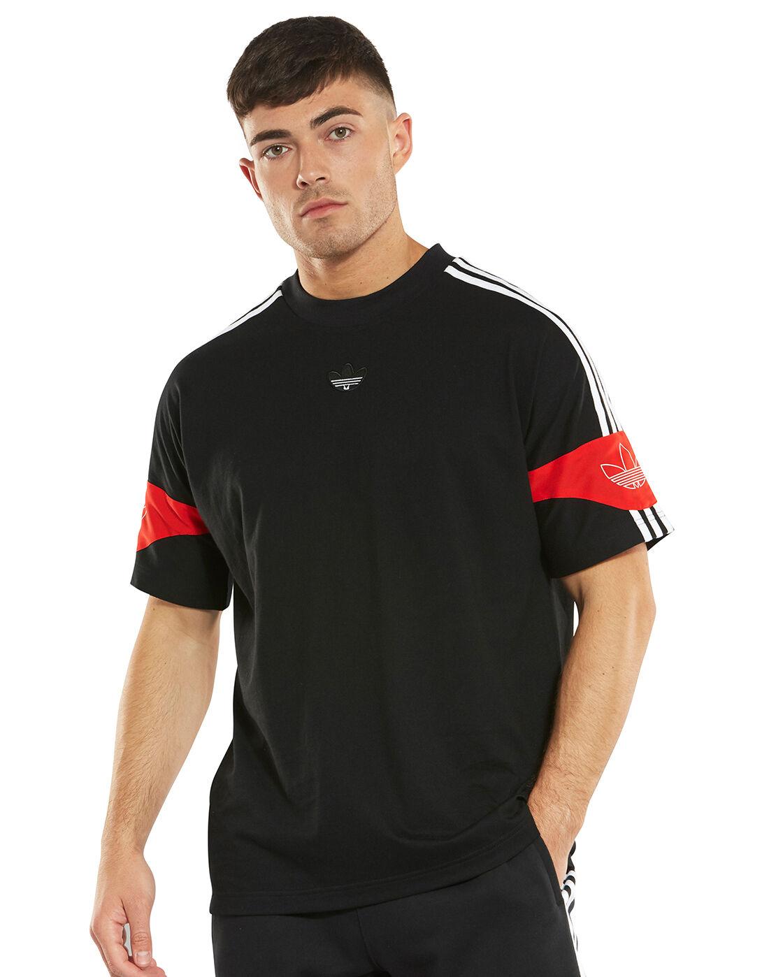 adidas Originals Mens Ts Trefoil T Shirt