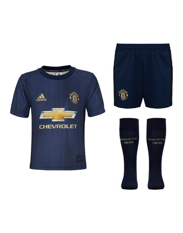 Kids Man Utd 18/19 Third Kit