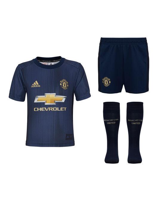 new concept be1fe 9fa7e adidas Kids Man Utd 18/19 Third Kit
